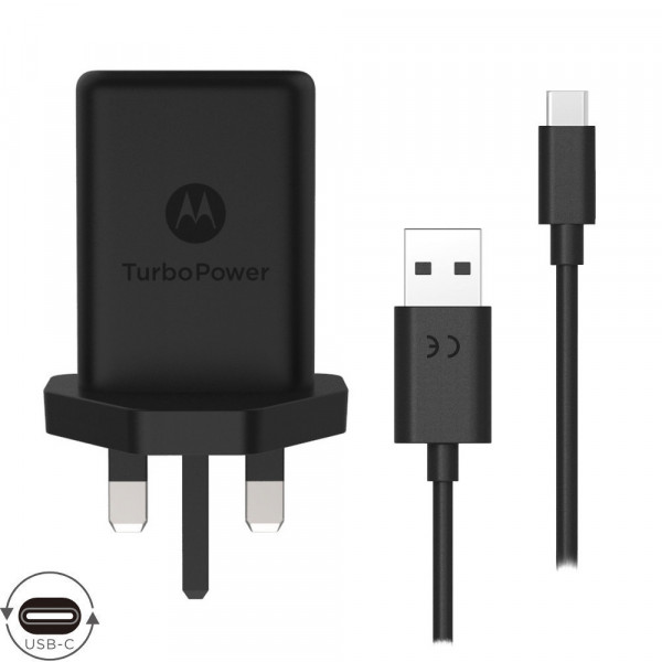 Motorola TurboPower™ 15+ Wall Charger with USB-C Data Cable