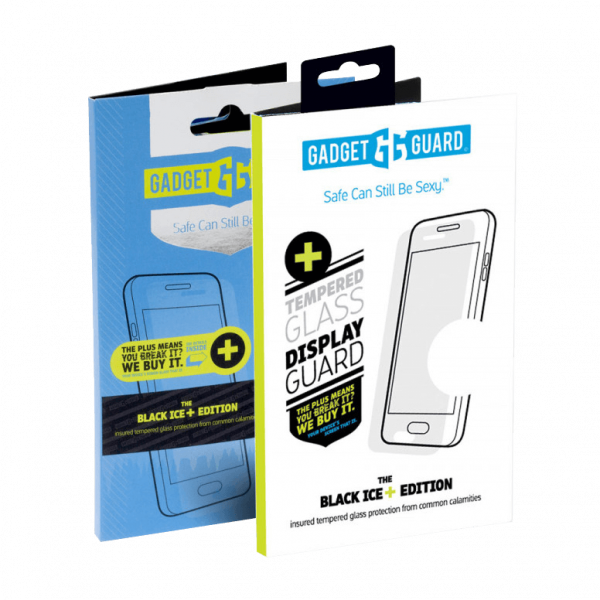Gadget Guard - Black Ice Plus Glass Screen Protector For Motorola Moto Z3 Play - Clear